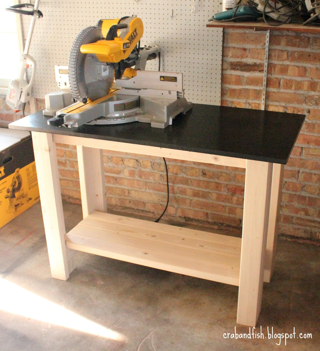 Ana White Crab Fish Make A Work Bench Diy Projects