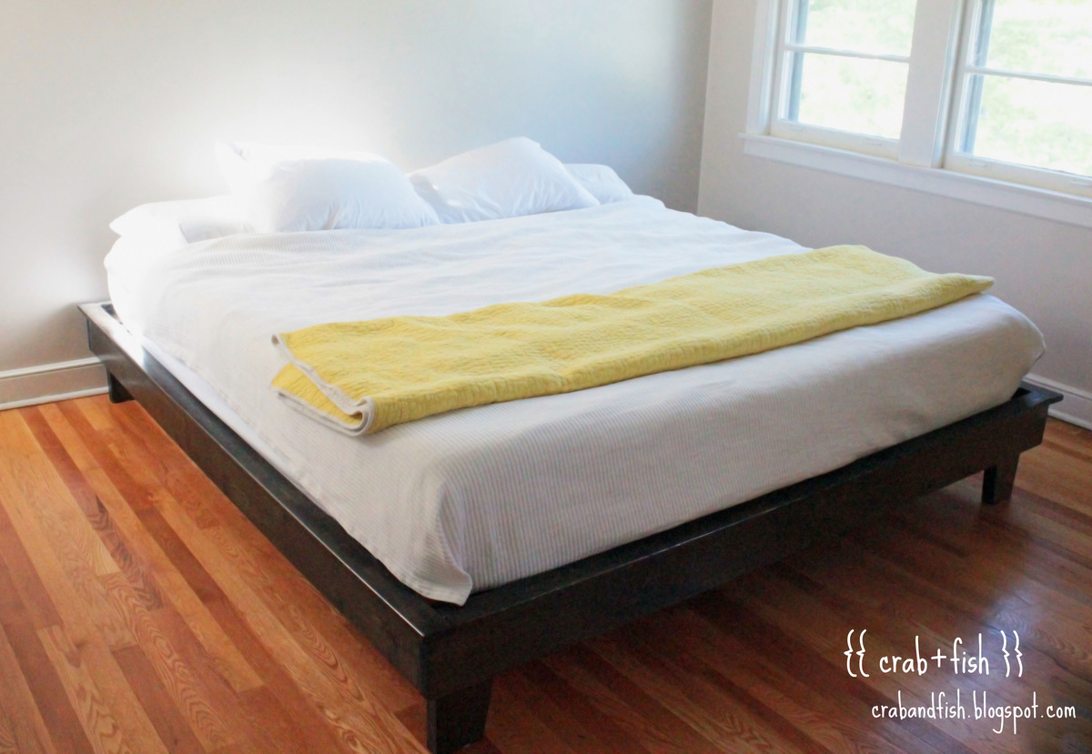 ana white  hailey platform bed  king size  diy projects -