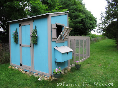 ana white chicken coop run for shed coop diy projects. Black Bedroom Furniture Sets. Home Design Ideas