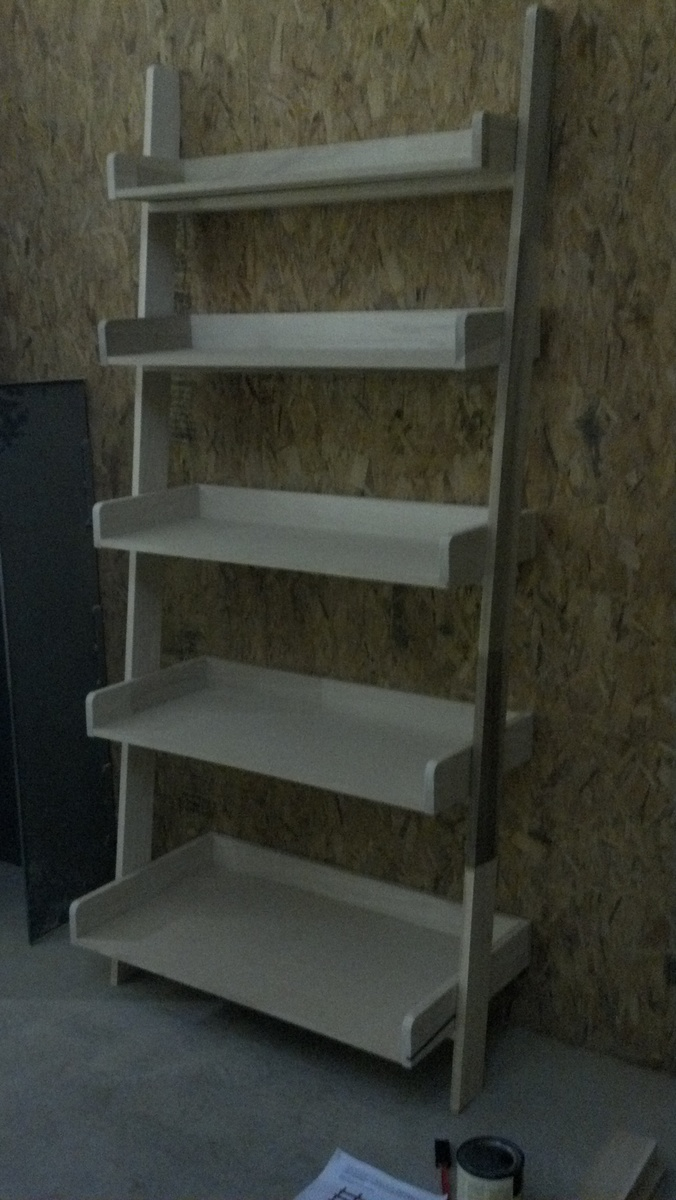 Ana White Leaning Wall Shelf Diy Projects