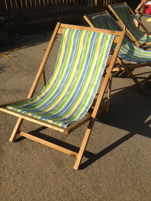 Ana White | Sling Chair - DIY Projects