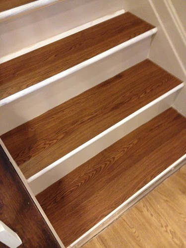 Charmant Refinished Stairs