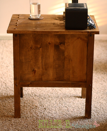 Free Plans To Build A Tidy Up Side Table