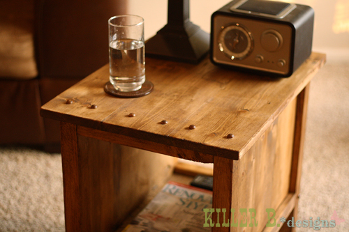 Beautiful  Tidy Up End Table