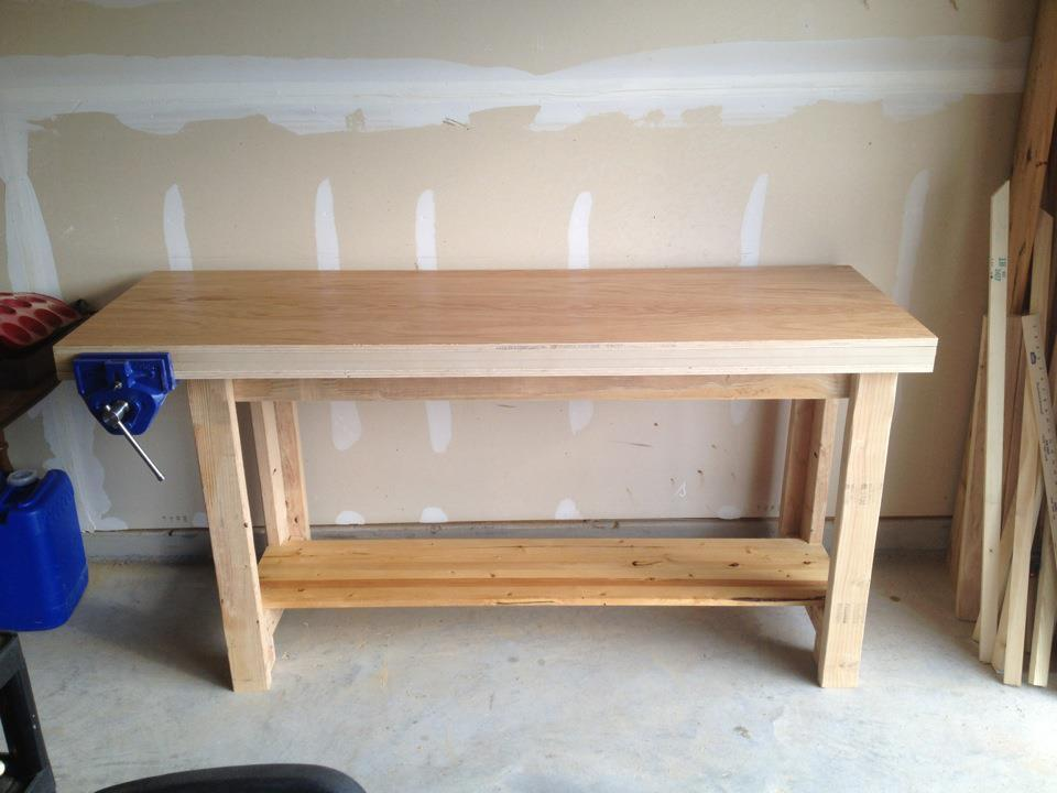 Woodworking Bench Ana White