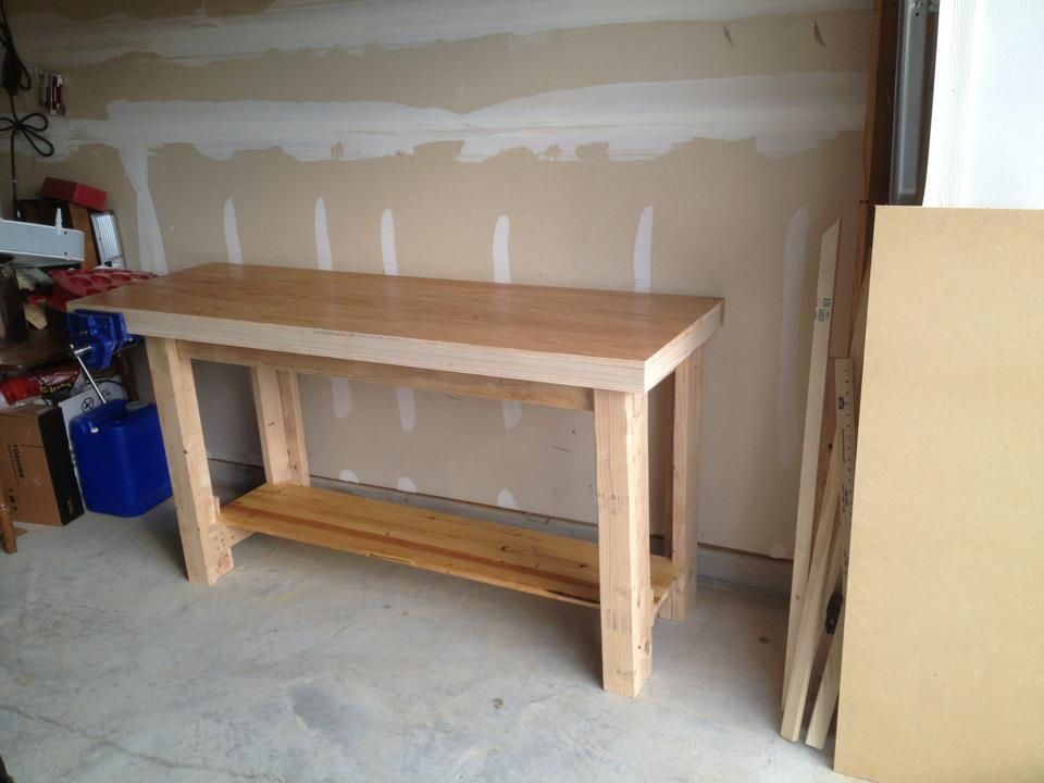Popular 2x4 sitting bench plans the woodwork for Sitting table designs