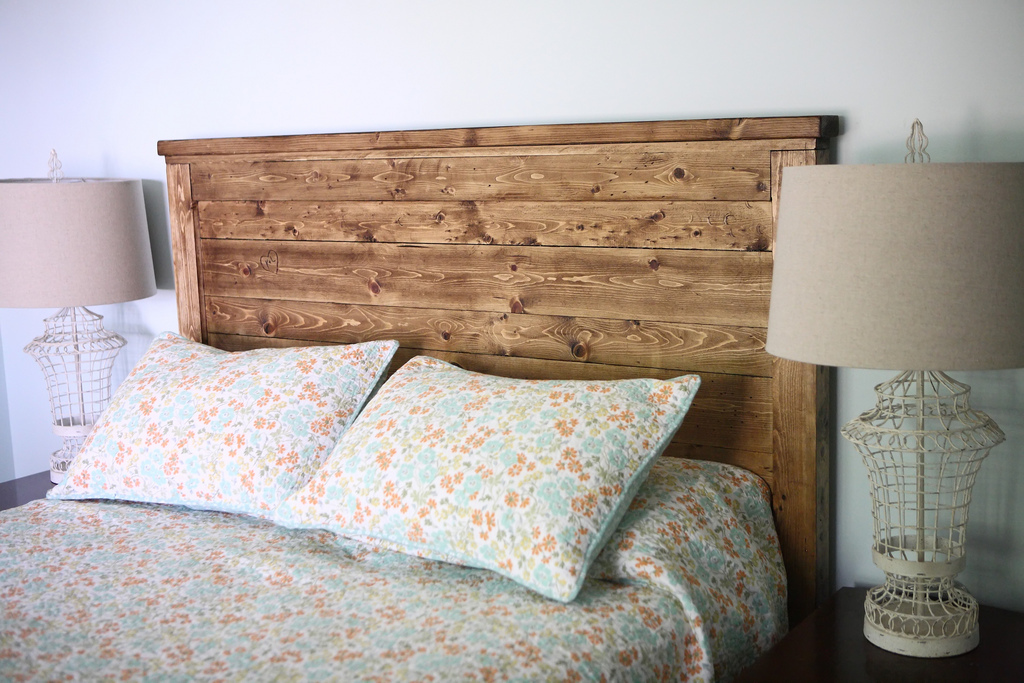 ana white reclaimed wood headboard diy projects