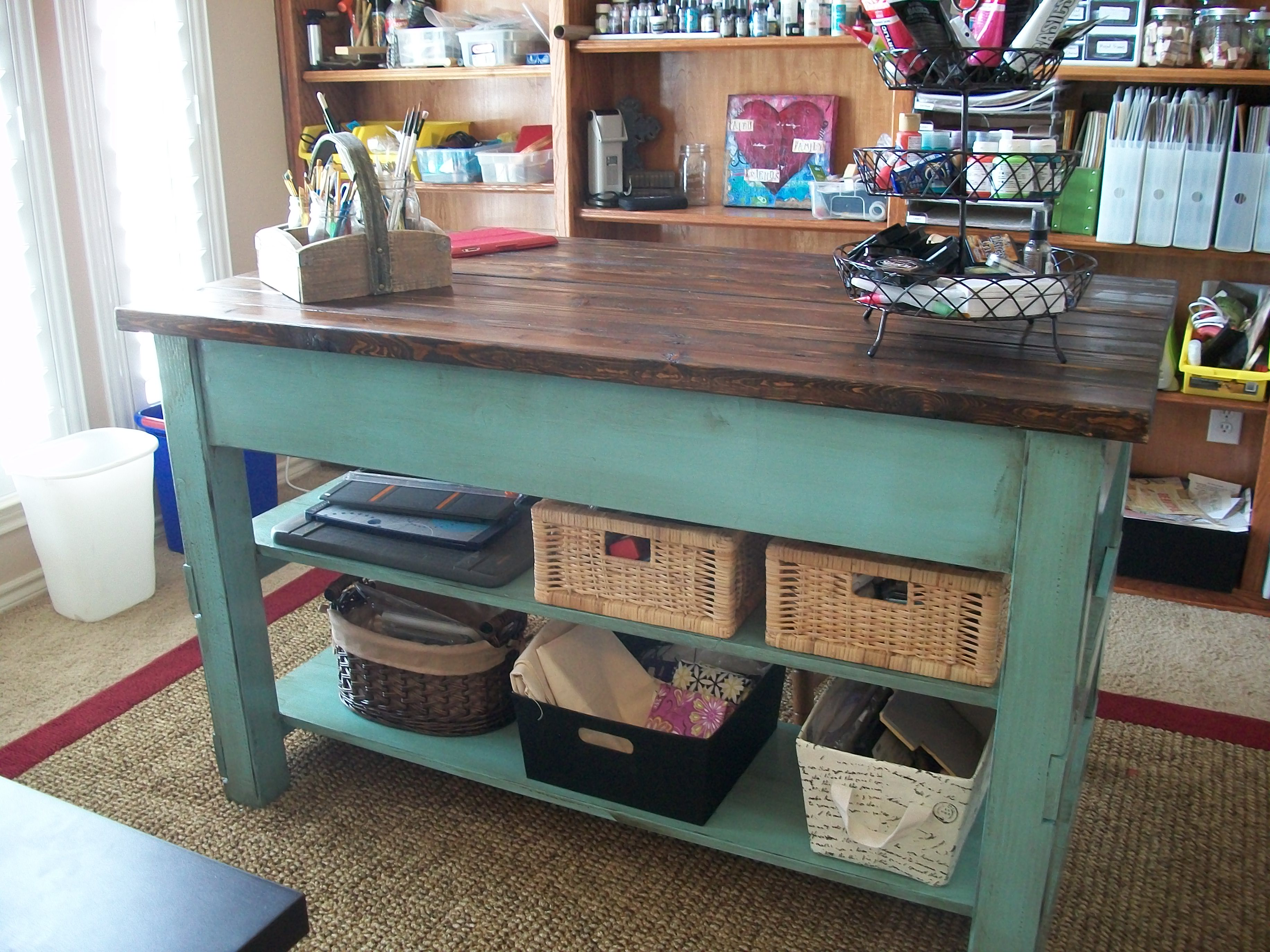 Craft Table From Michaela Island Ana White