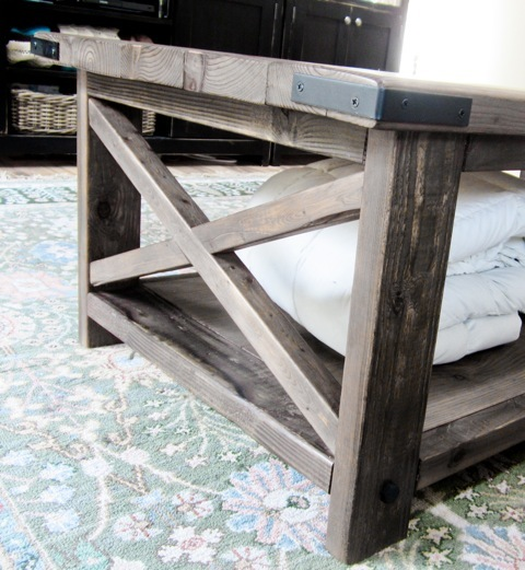 Build A Rustic X Coffee Table With Free Easy Plans From Ana White Com