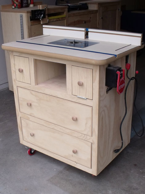 Ana white patricks router table plans diy projects greentooth Gallery