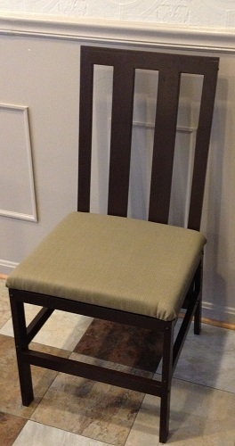 Harriet chair, modifications