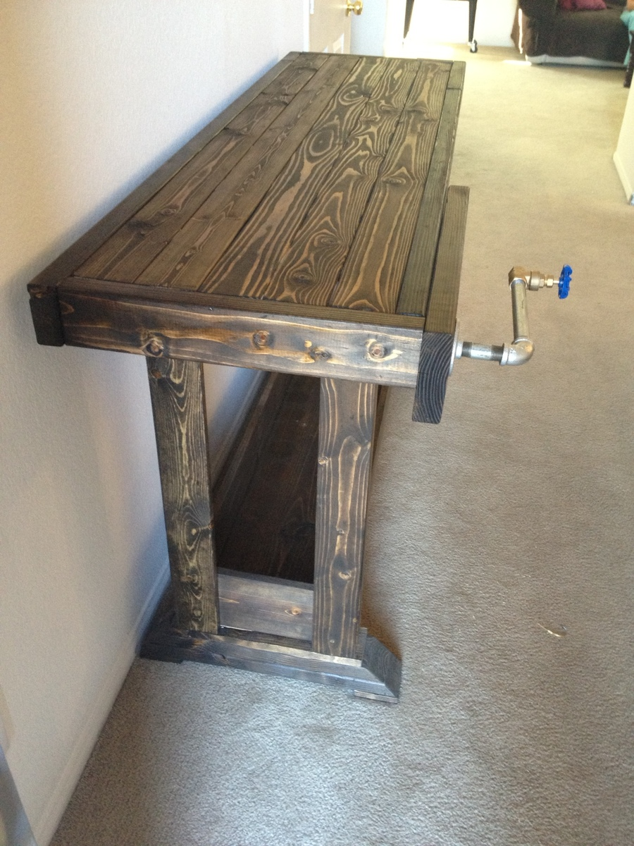 Workbench Console Table