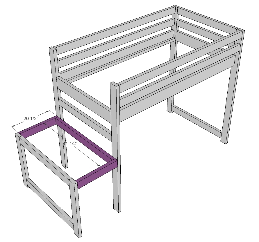 Building A Platform Bed With Legs | Judy Fielder Blog
