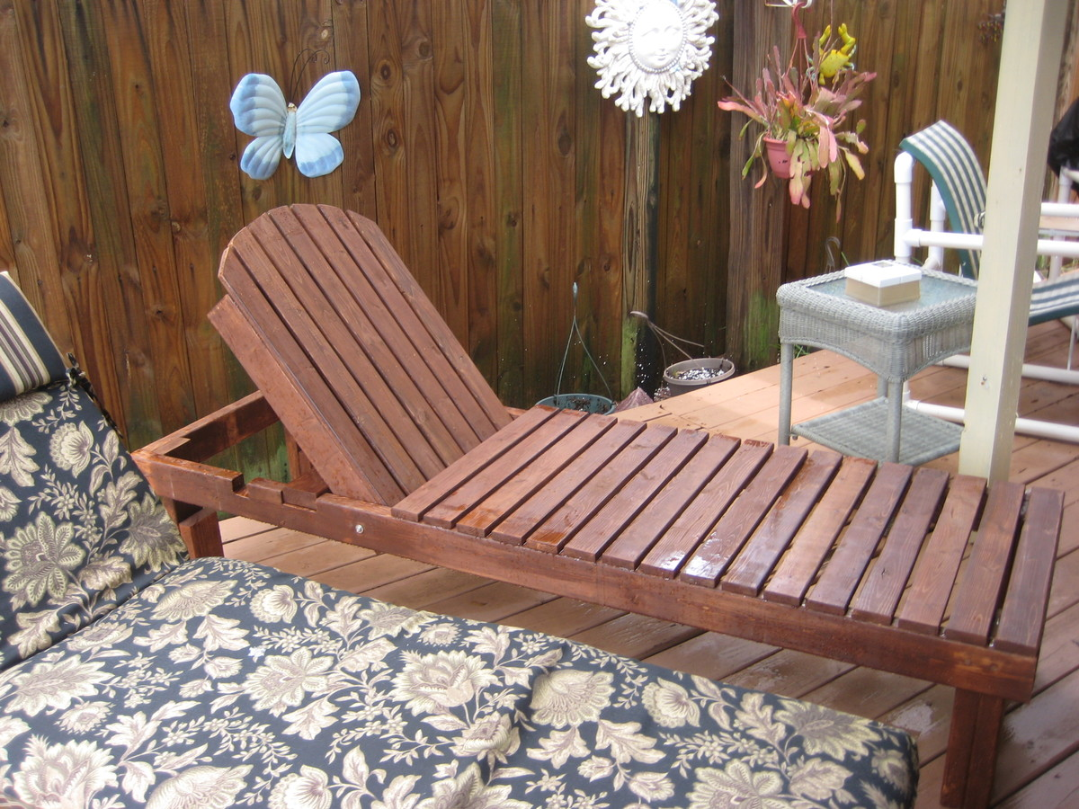 Ana White Chaise Lounges Diy Projects