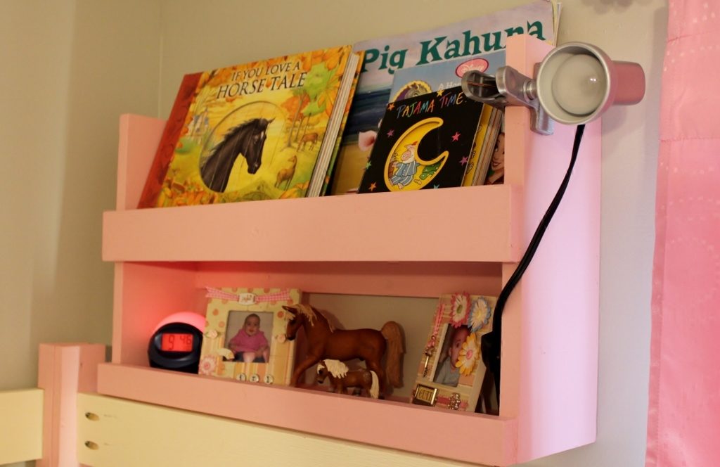 ana white | bunk bed shelf organizer - diy projects