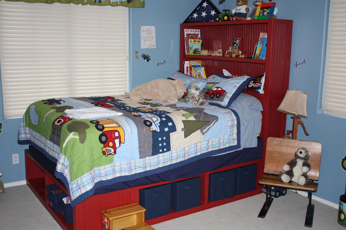 Ana White Queen Storage Bed Diy Projects