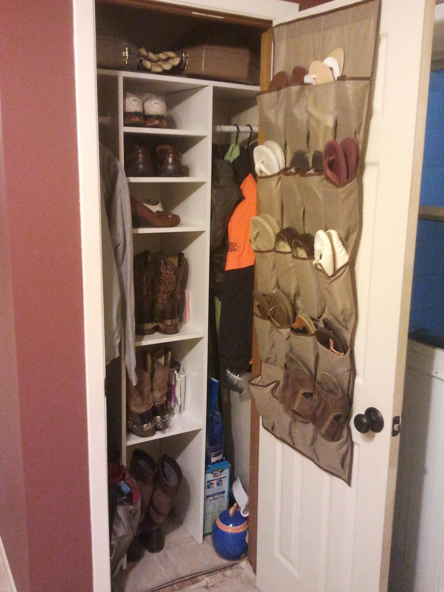 Small Closet Renovation