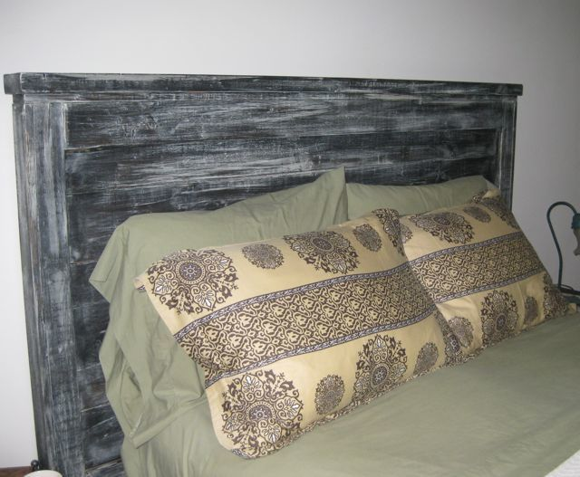 Do It Yourself Home Design: Farmhouse Headboard - DIY Projects