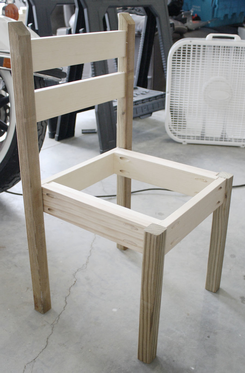 diy chair white kiddie chairs diy projects 535