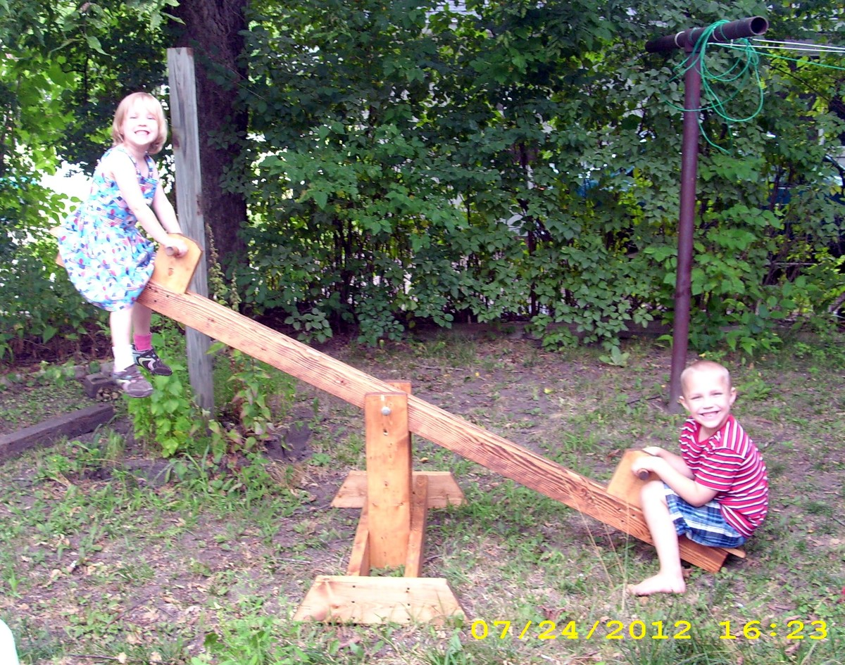 ana white seesaw diy projects