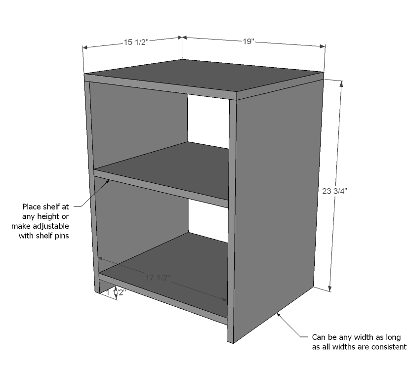 Wooden wood plans night stand pdf plans for Nightstand plans