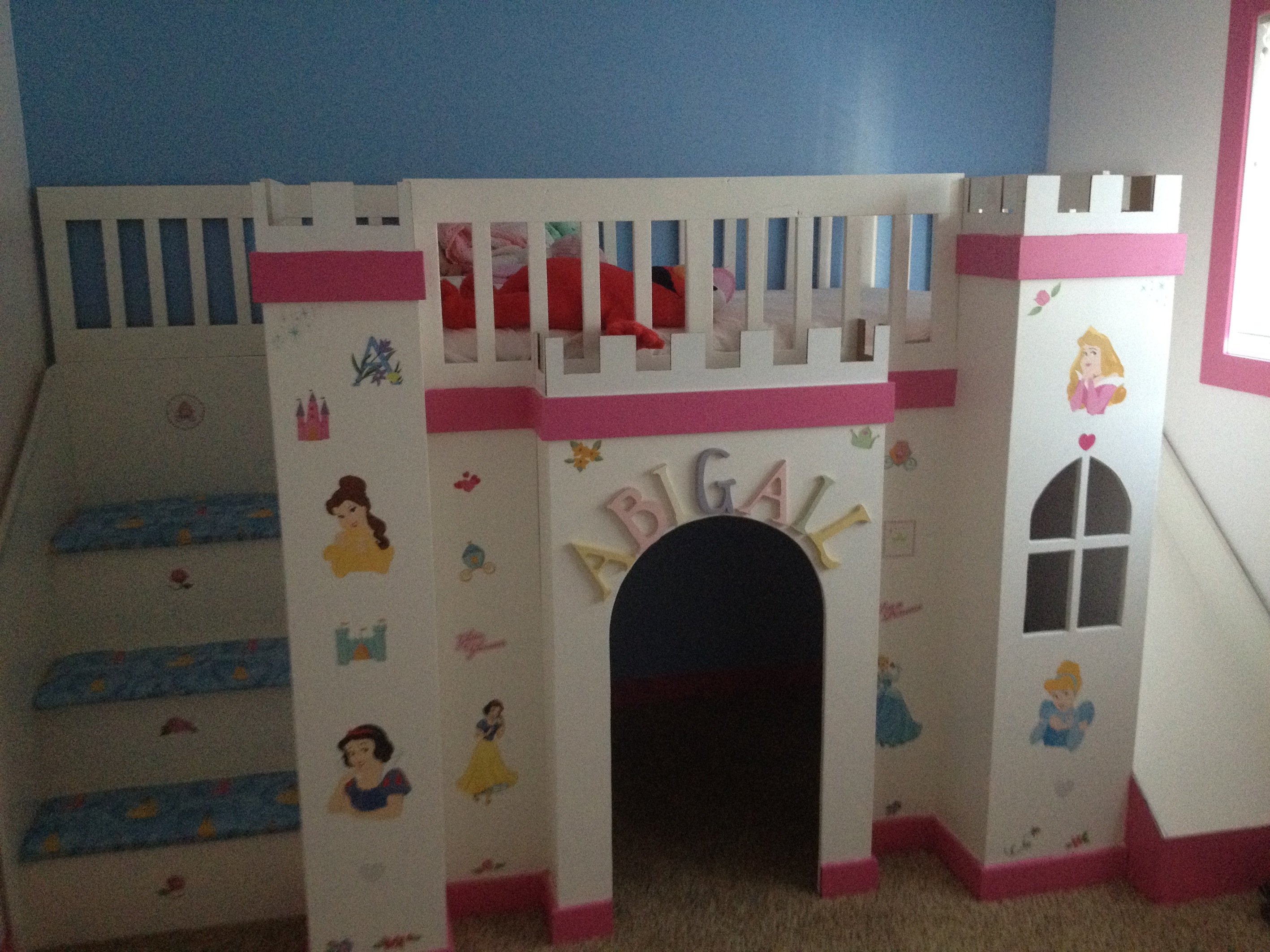ana white | abi's castle loft bed - diy projects