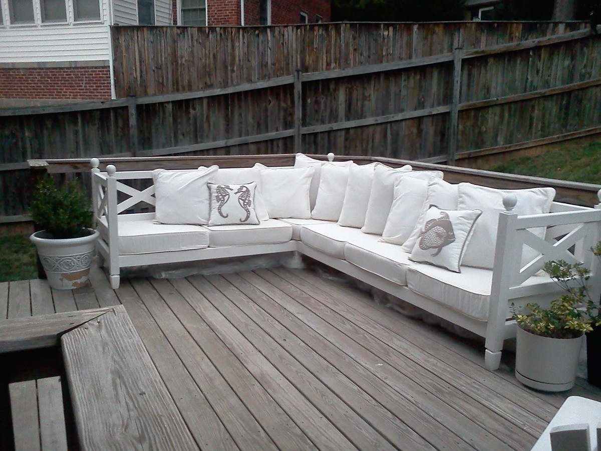 Ana White Weatherly Sectional Diy Projects