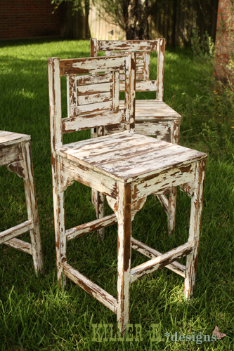 Free Plans To Build Vintage Bar Stools