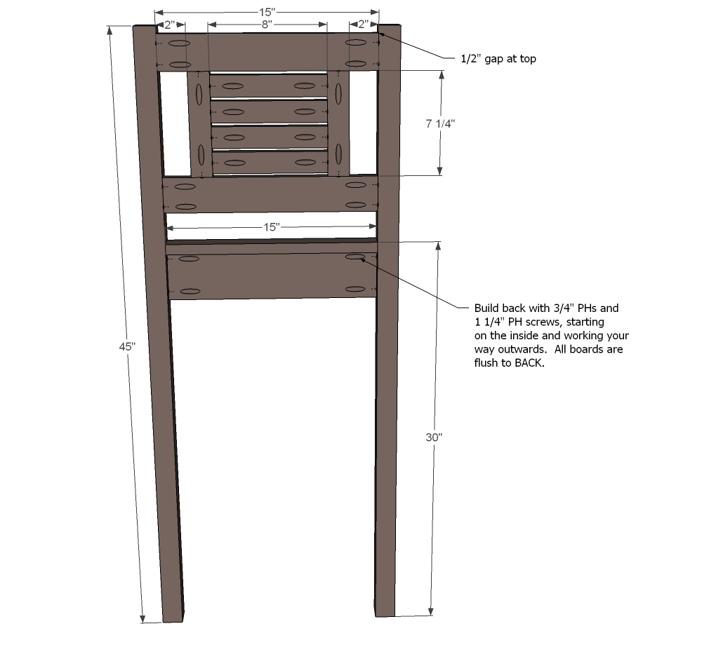 Build Your Own Bar Stools D51