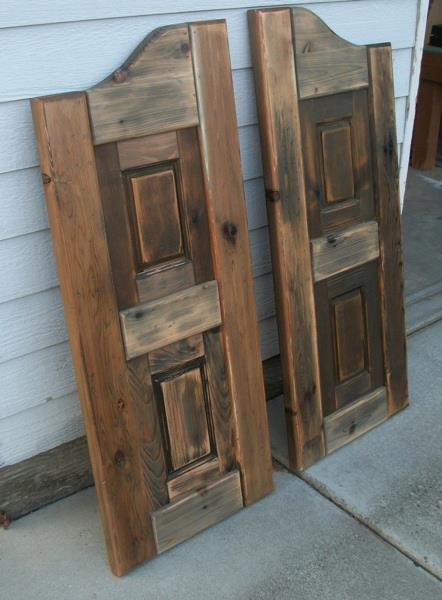 Additional Photos: - Ana White Western Saloon Doors - DIY Projects