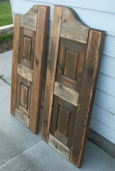 Western Saloon doors - Ana White Western Saloon Doors - DIY Projects
