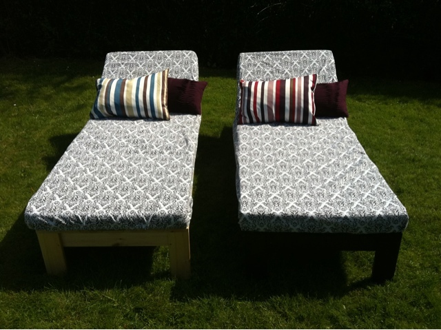 Diy Chaise Lounge Chairs Single Lounger Ana White