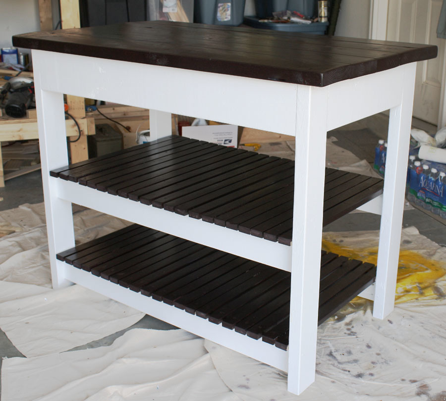 Build Michaela S Kitchen Island Diy Projects: A Bittersweet Building Project - DIY Projects