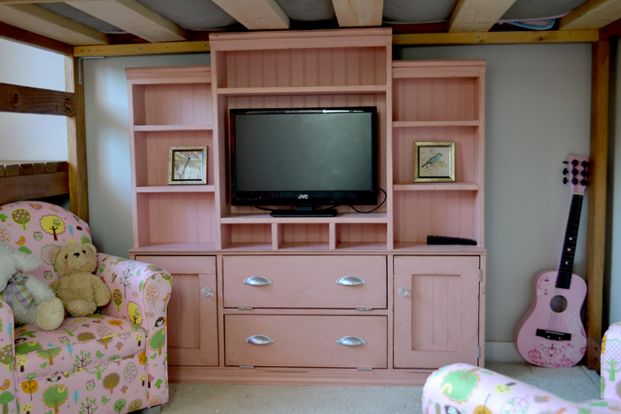 Mini Media Wall For Playhouse Or Kids Room