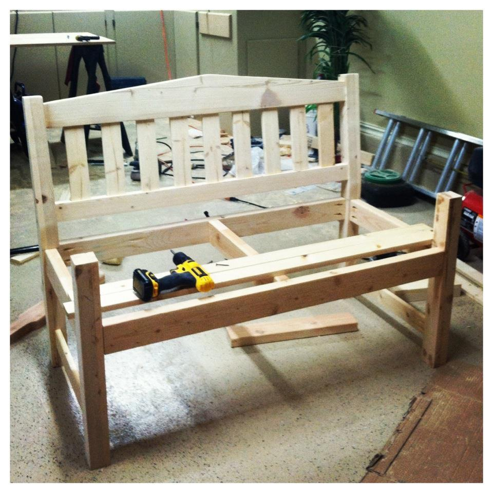 Ana White | Garden Bench!! - DIY Projects