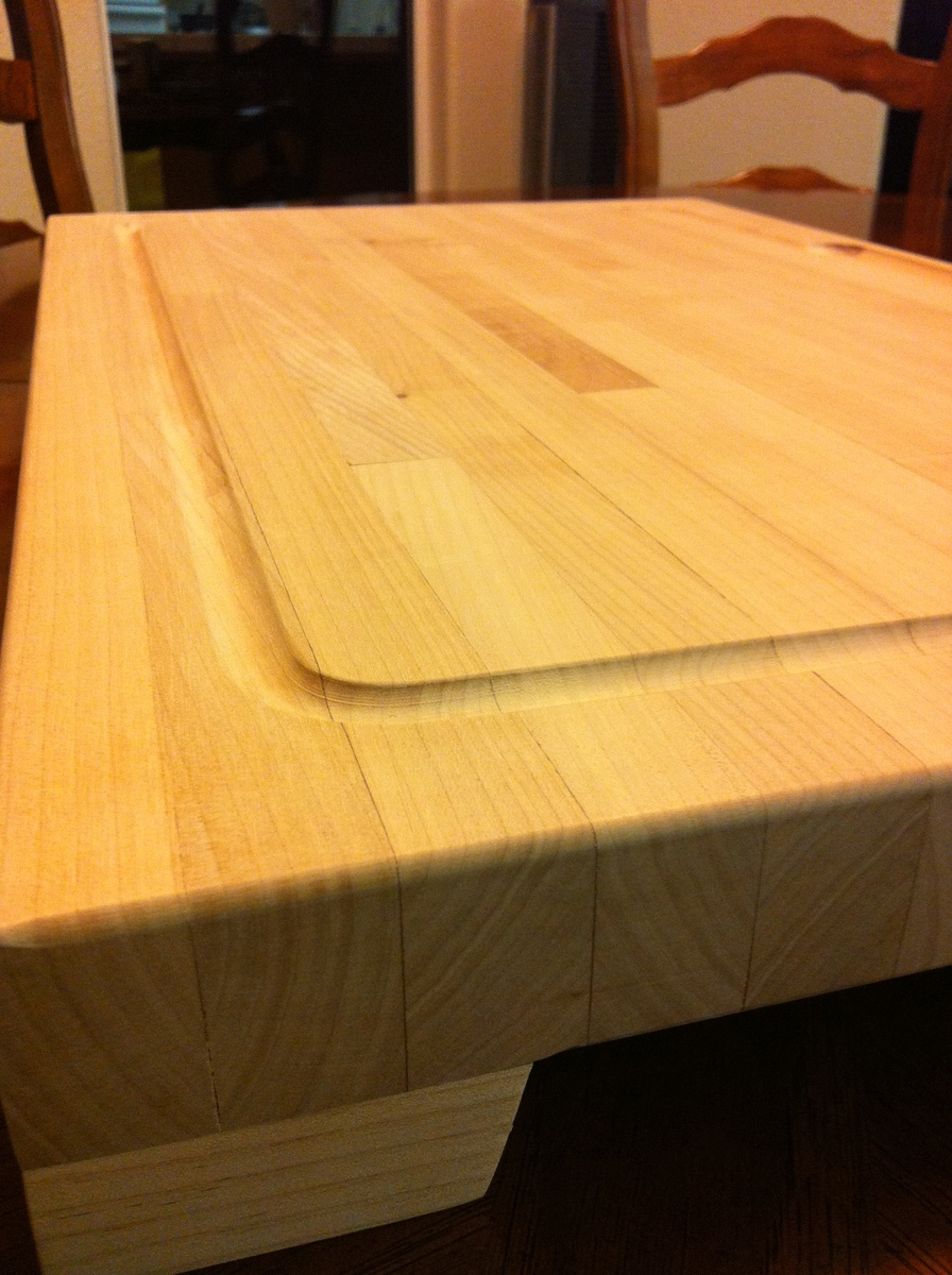Ana White Huge Butcher Block Cutting Board My Very