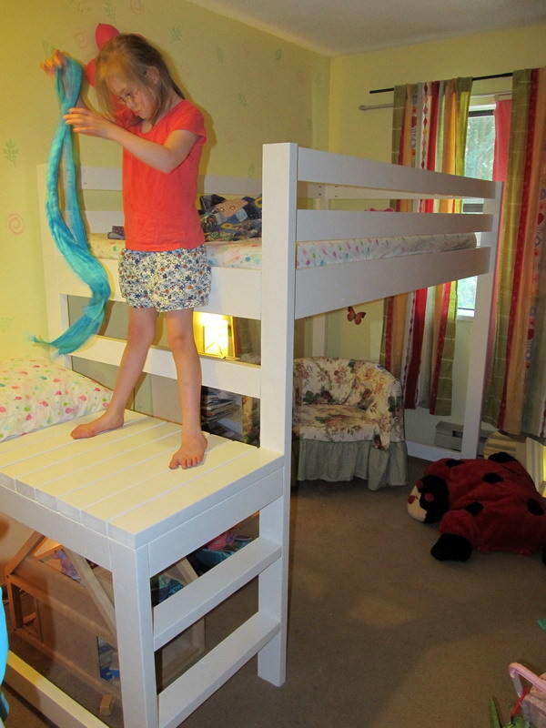 Ana White Loft Bed For Phaedra Diy Projects