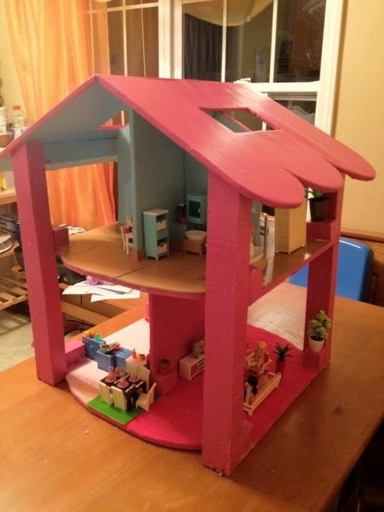 Ana White The New Dollhouse Diy Projects