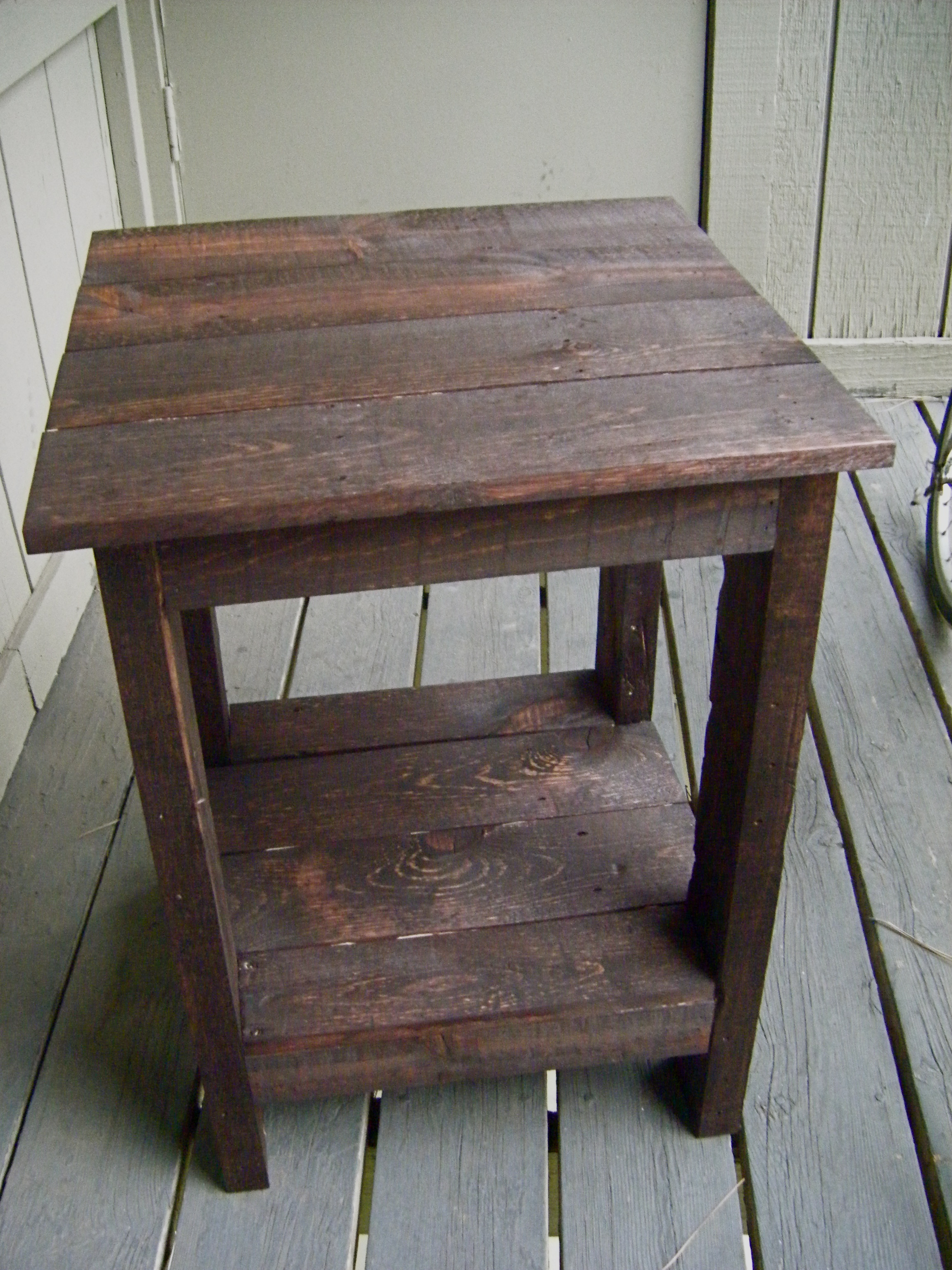 Diy Pallet Sofa Table Tryed Side Redux A