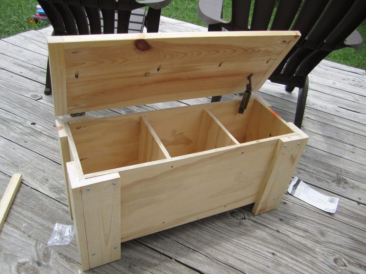 Download Outdoor Storage Bench Diy Plans Free