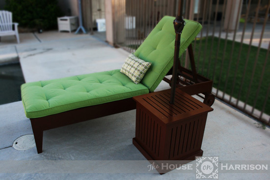 Ana white diy outdoor chaise lounge diy projects for Build chaise lounge