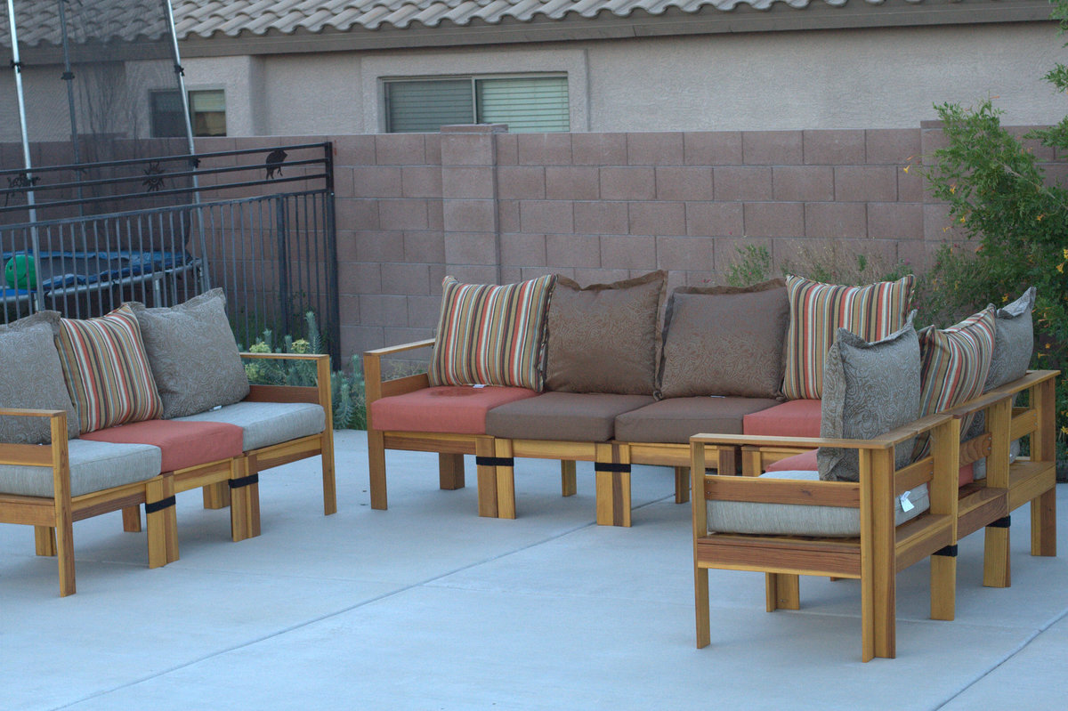 Ana White Poolside Outdoor Sectional Diy Projects