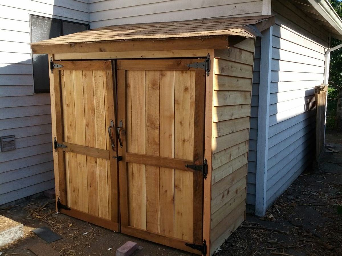 Ana white garden shed diy projects for Diy garden shed