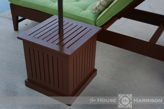 Ana White Outdoor Umbrella Stand Diy Projects