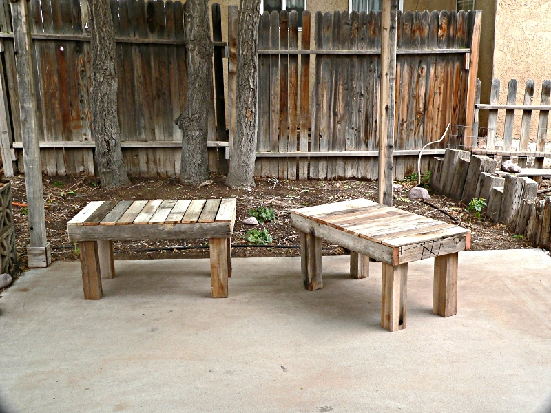 Ana White Reclaimed Fence Free Benches Diy Projects