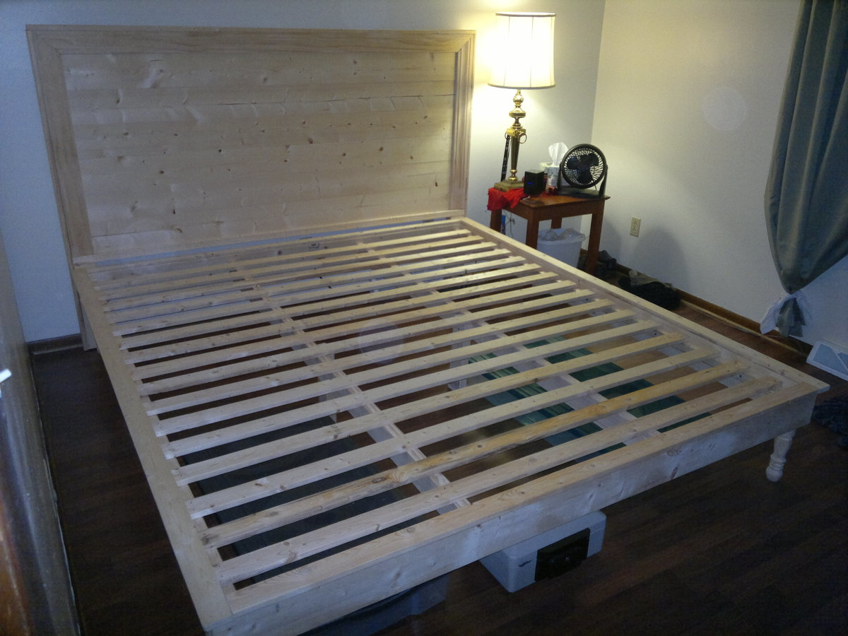 Hailey Platform Bed And Headboard