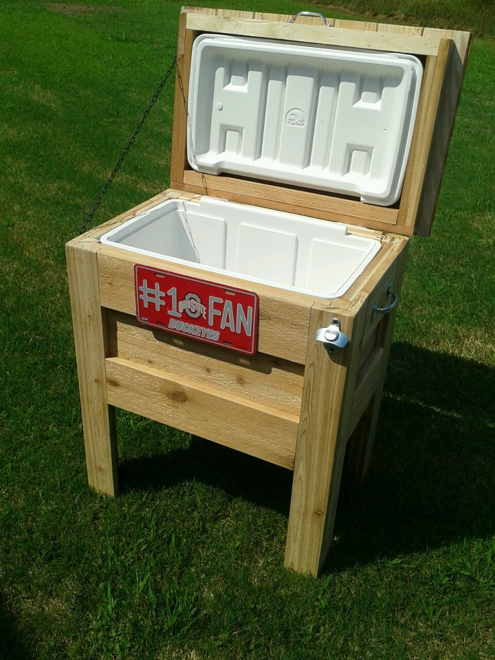 Outdoor Wooden Cooler - Ana White Outdoor Wooden Cooler - DIY Projects