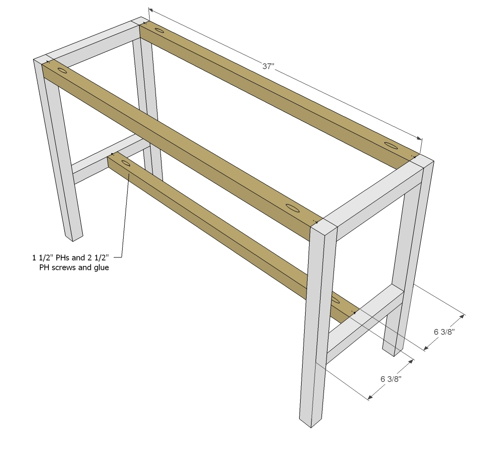 Ana white perfect end table diy projects for Instructions on how to build a table
