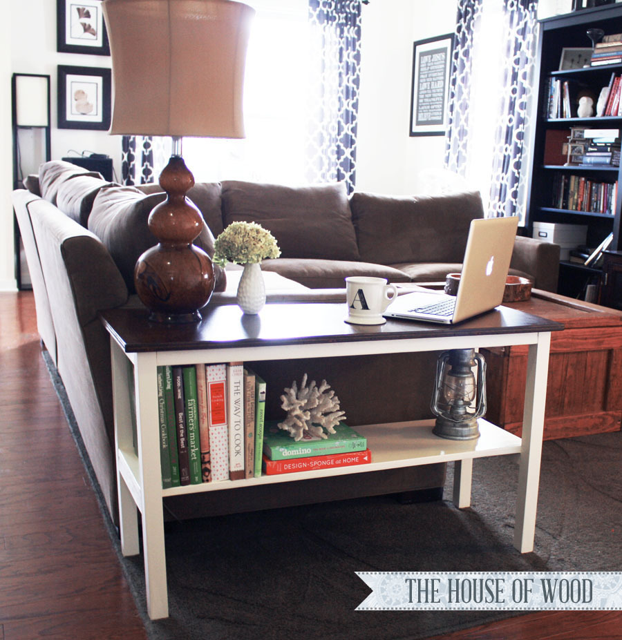 Ana White Perfect End Table DIY Projects - End table for sectional sofa