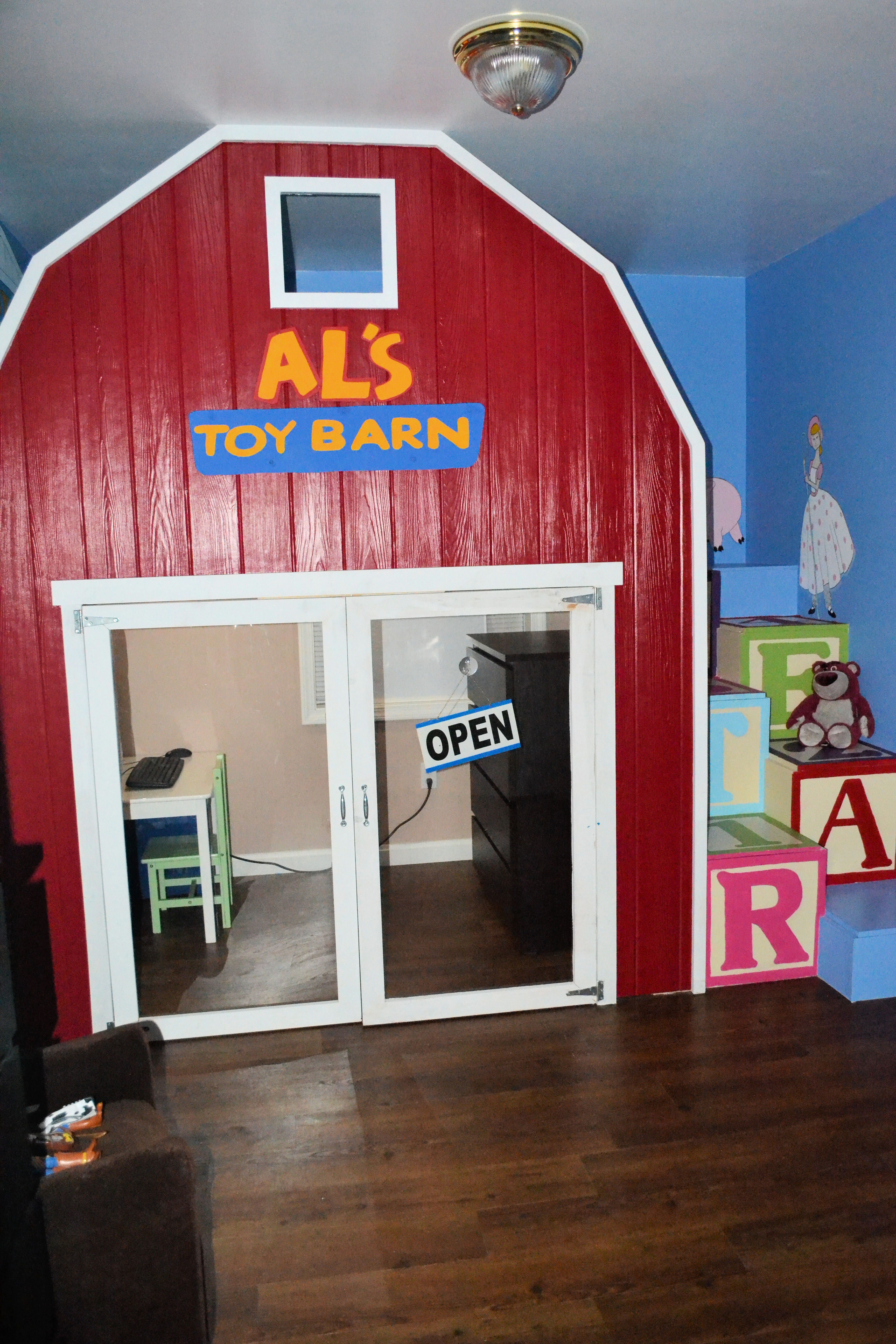 Ana White | Toy Story 2 Loft Bed - DIY Projects
